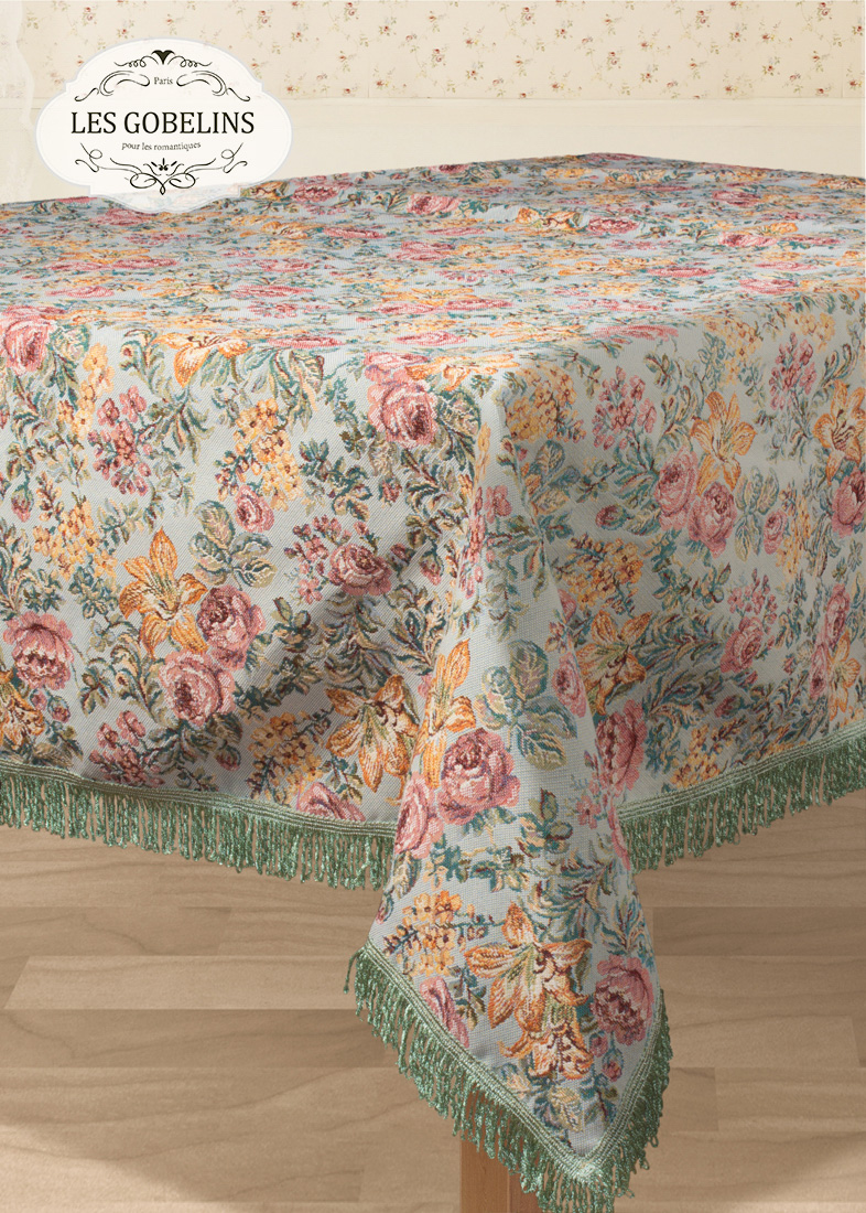Скатерти и салфетки Les Gobelins Скатерть Arrangement De Fleurs (130х190 см)