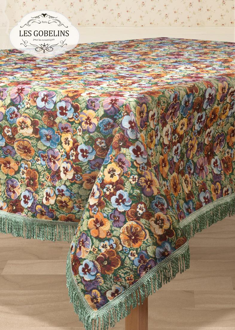 Скатерти и салфетки Les Gobelins Скатерть Fleurs De Jardin (150х160 см)