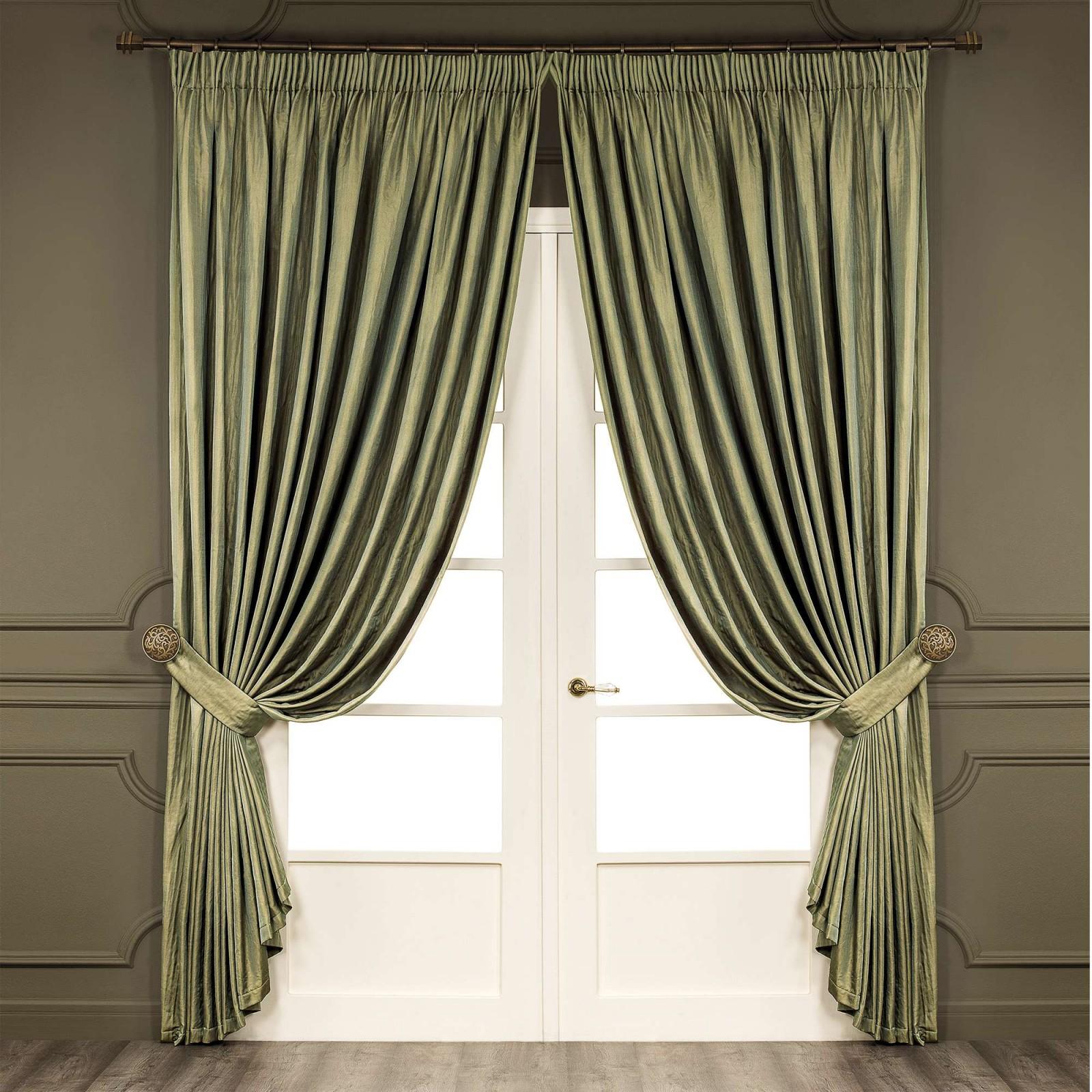 Шторы Togas Классические шторы Лидо Цвет: Зеленый