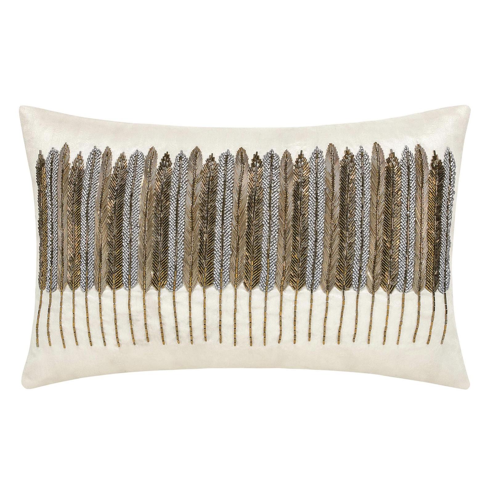Декоративные подушки Togas Декоративная подушка Верди Цвет: Экрю (30х50) вышивка бисером молящийся христос