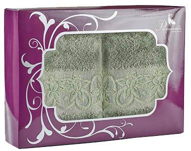 Полотенца Primavelle Полотенце Deni Цвет: Зеленый Чай (50х90 см - 2 шт ) набор полотенец primavelle deni 50x90 2 шт