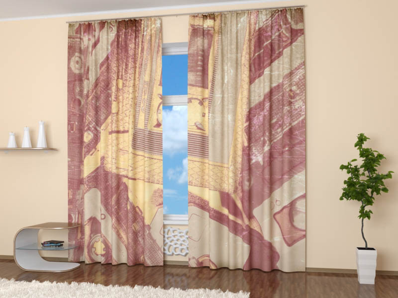 Шторы StickButikШторы<br>ВНИМАНИЕ! Комплектация штор может отличаться от представленной на фотографии. Фактическая комплектация указана в описании изделия.<br><br>Производитель: StickButik<br>Cтрана производства: Россия<br>Фотошторы<br>Материал портьеры: Сатен<br>Размер портьеры: 155х260 см (2 шт.)<br>Вид крепления: Лента<br>Тип карниза: Однорядный карниз<br>Рекомендуемая ширина карниза (см): 155-450<br><br>Заказывая шторы нужно помнить, что полотно портьеры (2 шт. для 1 окна) и гардины (1 шт на окно) не вешается «в натяжку». Исключение составляют римские и японские шторы. Все остальные модели предусматривают образование складок, а для этого ширина шторы должно быть больше длины карниза (как правило в 1.5-2.5 раза). Чем больше соотношение тем гуще складки, коэффициент 1.5 считается минимально допустимой сборкой, в то время как 2.5 сборка с густыми складками. Размер карниза указанный в описании предполагает, что вы будете использовать 1 гардину на 1 окно. Ели вы собираетесь использовать к примеру 2 гардины на 1 окно, то размер карниза должен быть в 2 раза больше, чем указано.<br><br>Тип: шторы<br>Размерность комплекта: Фотошторы<br>Материал: Сатен<br>Размер наволочки: None<br>Подарочная упаковка: Фотошторы<br>Для детей: Фотошторы<br>Ткань: Сатен<br>Цвет: None