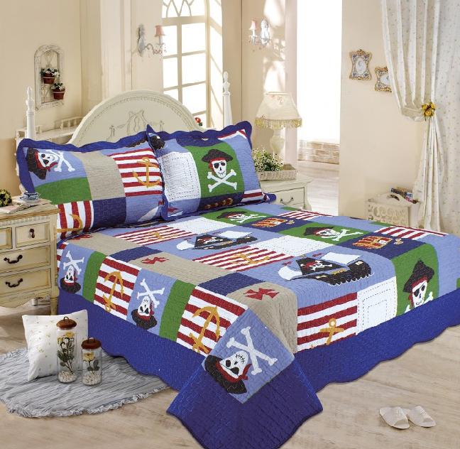 где купить  Детские покрывала, подушки, одеяла Tango Детское покрывало Пираты (180х220 см)  по лучшей цене