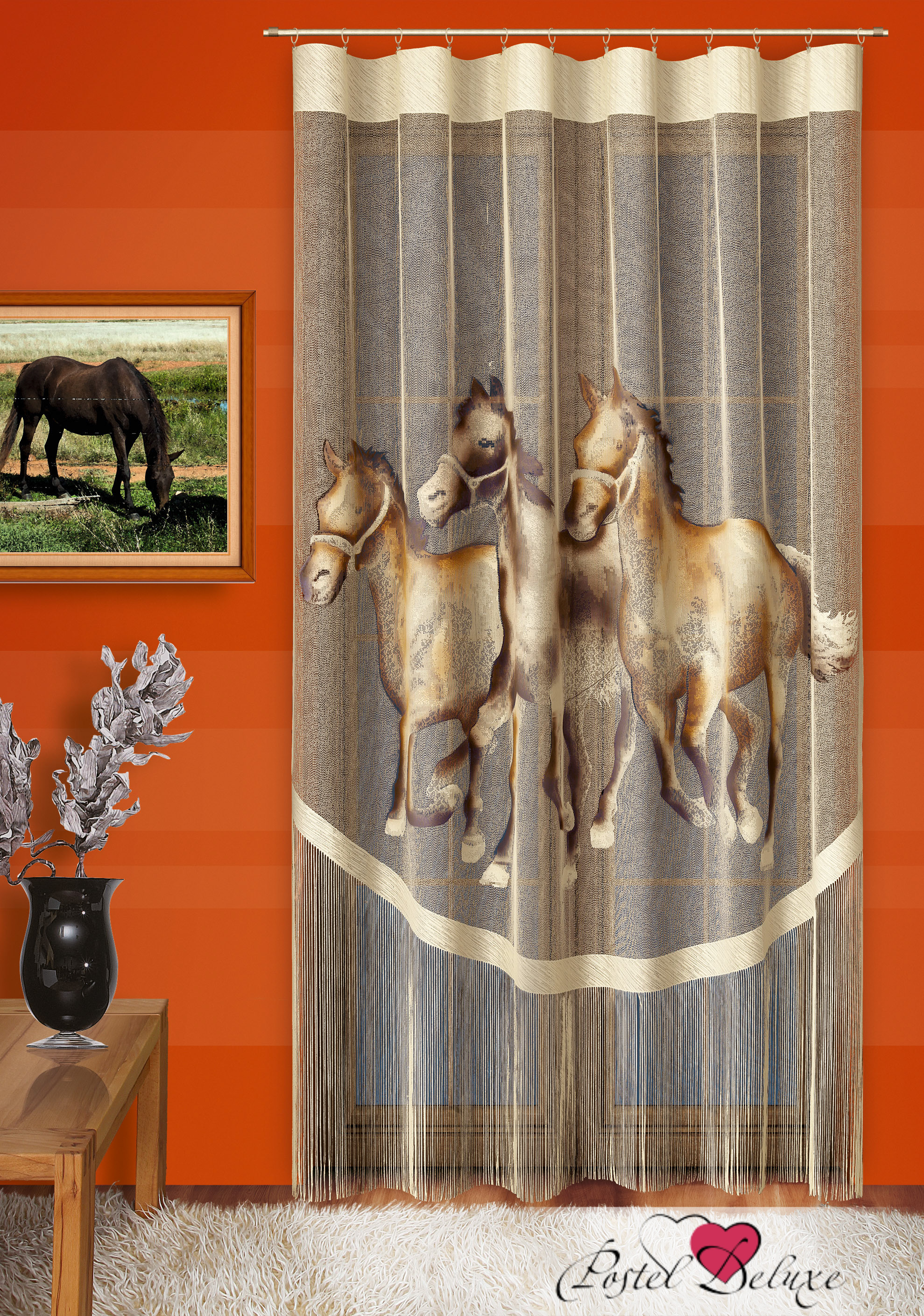Шторы Wisan Нитяные шторы Лошади шторы wisan нитяные шторы odelia