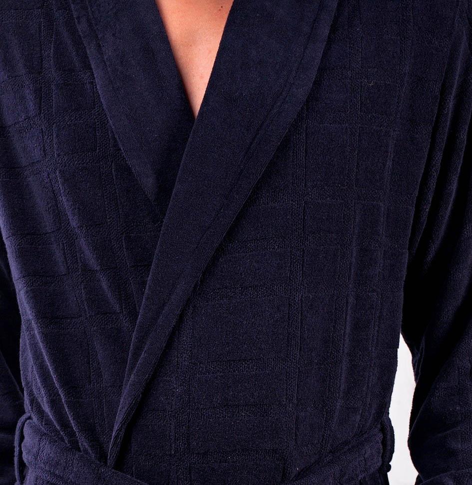 Сауны, бани и оборудование Five Wien Халат Alan Цвет: Синий (ххL) сауны бани и оборудование five wien халат royal club цвет синий xxl