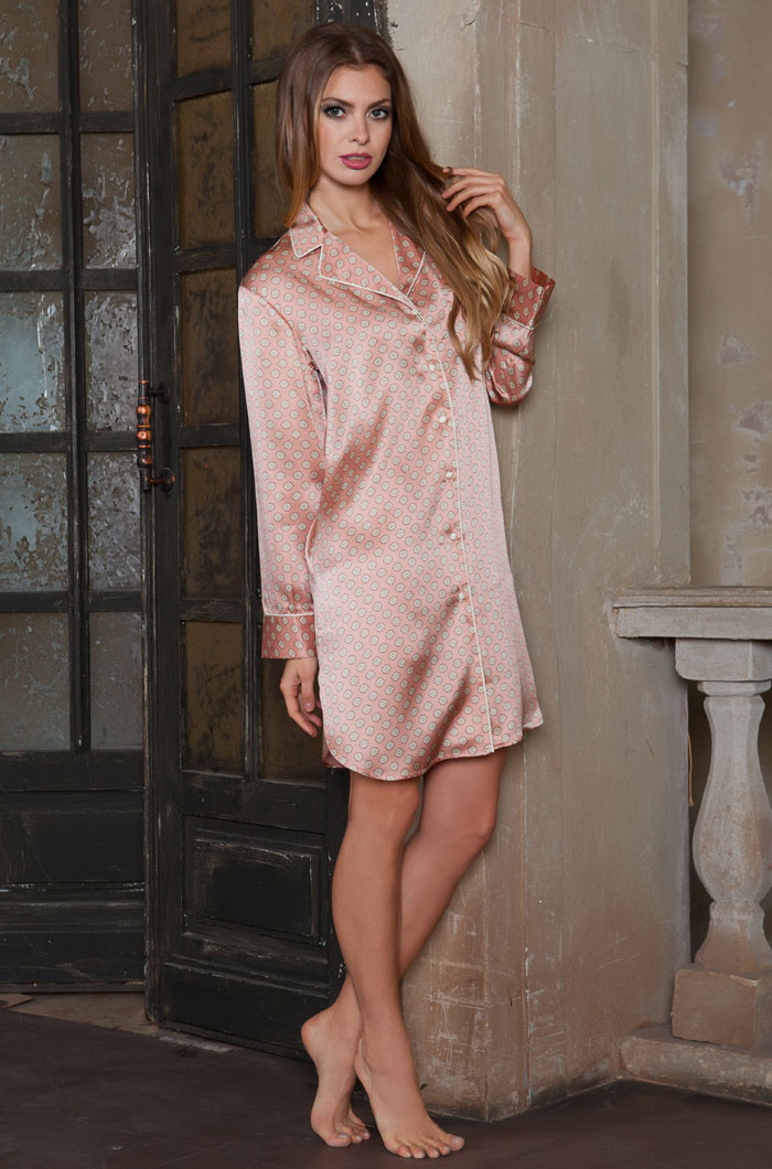 Ночные сорочки Mia-Mia Ночная сорочка Agata (xL) сорочка рубашка mia mia luisa розовая xl