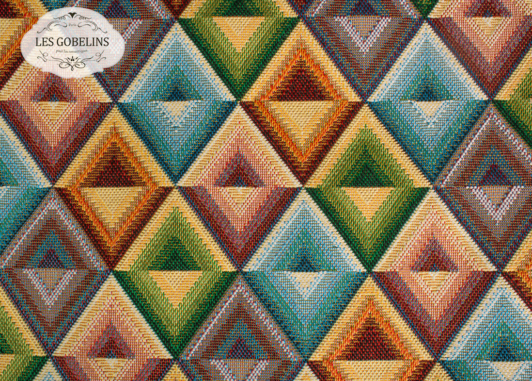 Покрывало Les Gobelins Накидка на диван Kaleidoscope (160х220 см) les gobelins les gobelins накидка на диван kaleidoscope 150х190 см