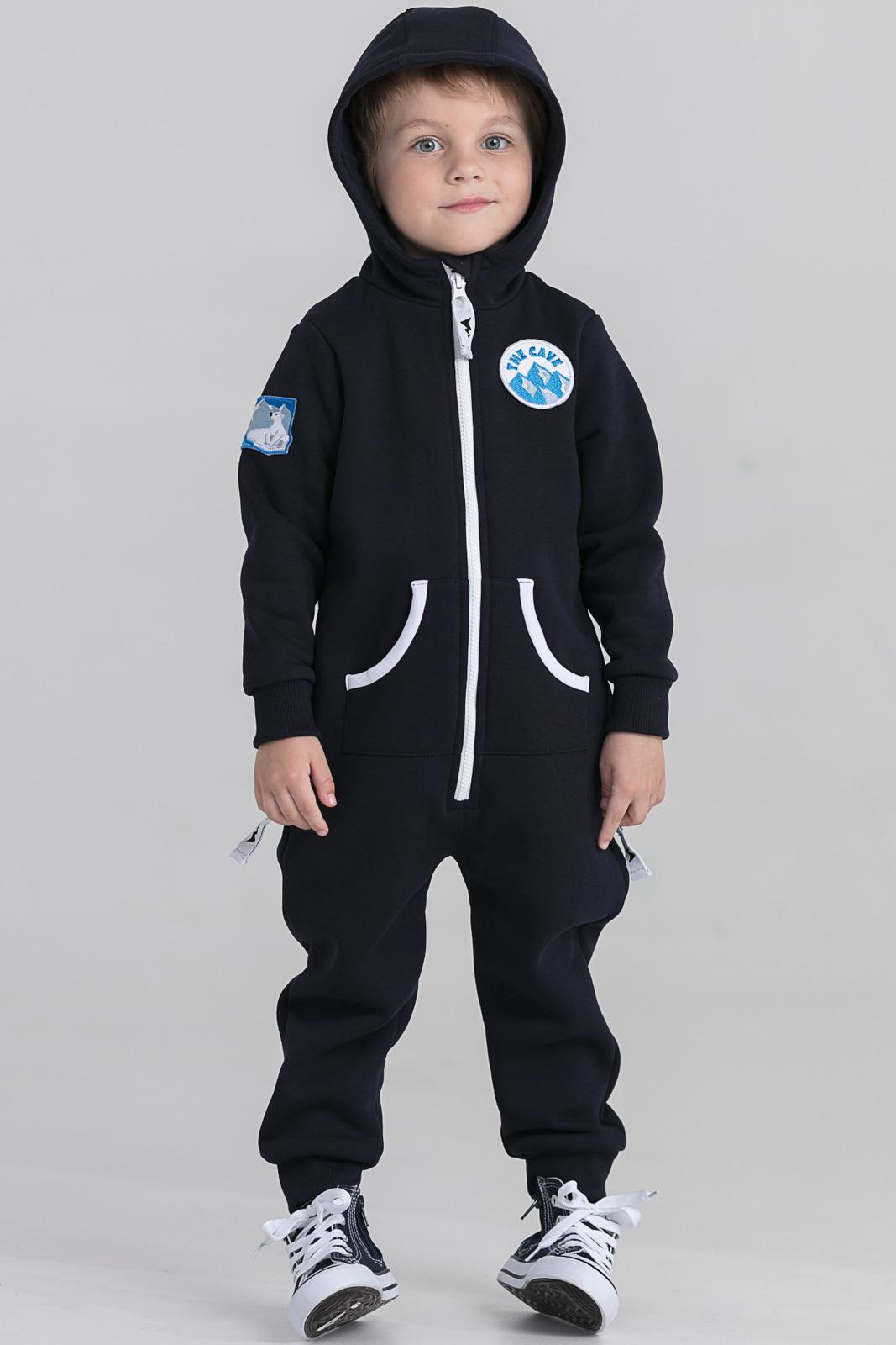 Детская домашняя одежда The Cave Детский комбинезон Darrel Цвет: Темно-Синий (1-2 года) флисовый комбинезон детский 2 года
