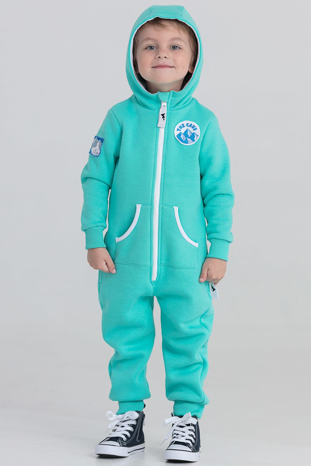 Детская домашняя одежда The Cave Детский комбинезон Darrel Цвет: Мята (2-3 года) флисовый комбинезон детский 2 года