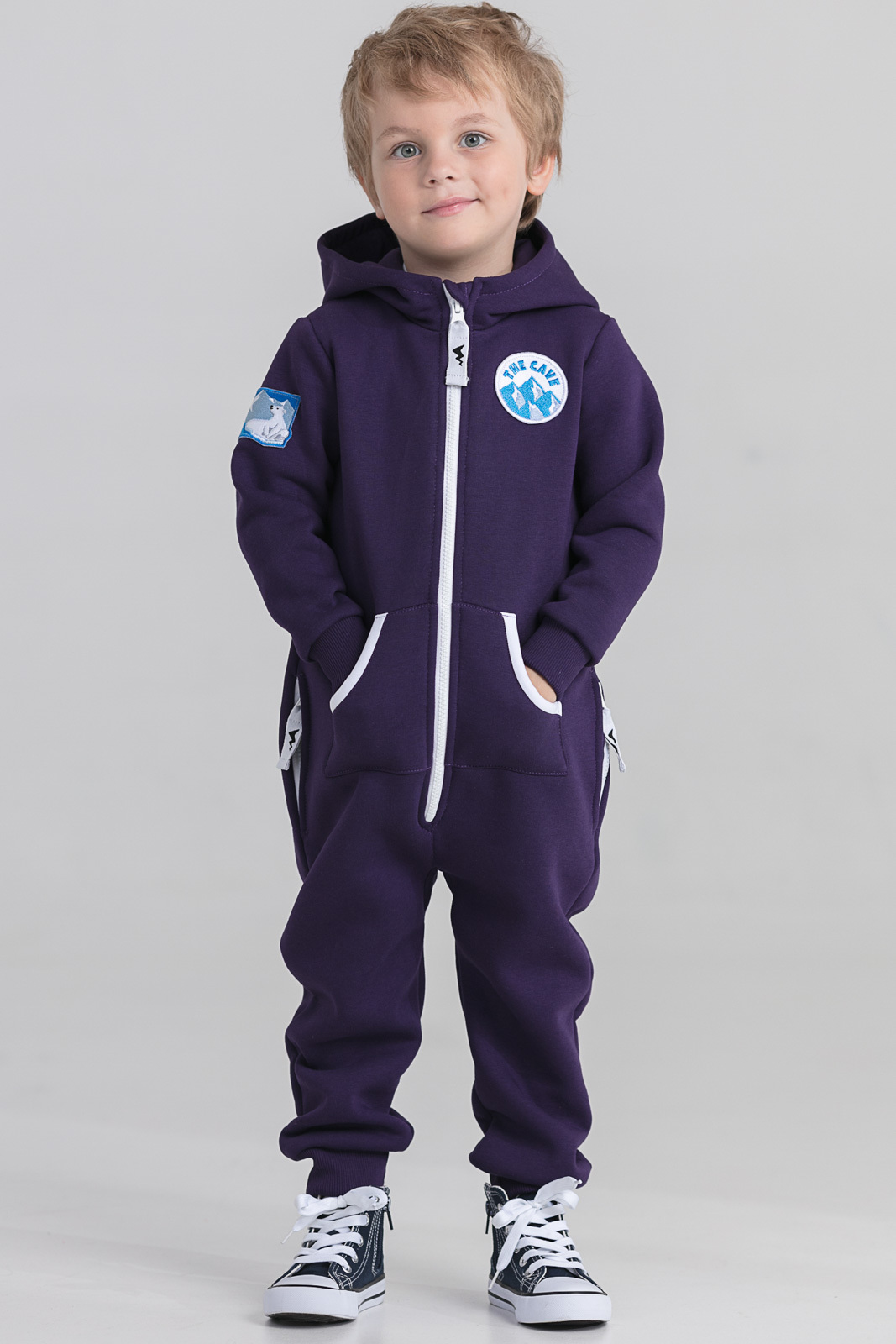 Детская домашняя одежда The Cave Детский комбинезон Darrel Цвет: Фиолетовый (2-3 года) флисовый комбинезон детский 2 года