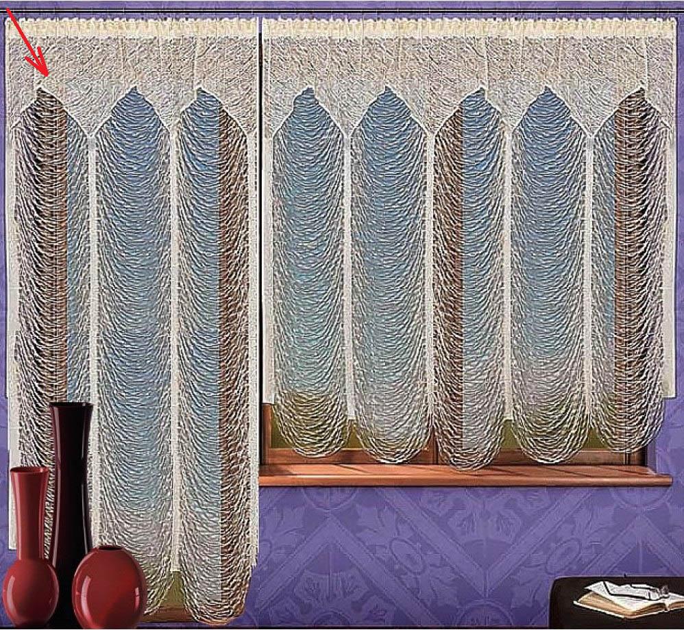 Шторы Wisan Нитяные шторы Marinario шторы wisan нитяные шторы pretty