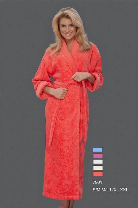 Сауны, бани и оборудование Virginia Secret Халат Maora Цвет: Голубой (L-xL) virginia secret virginia secret халат lavone цвет розовый l хl