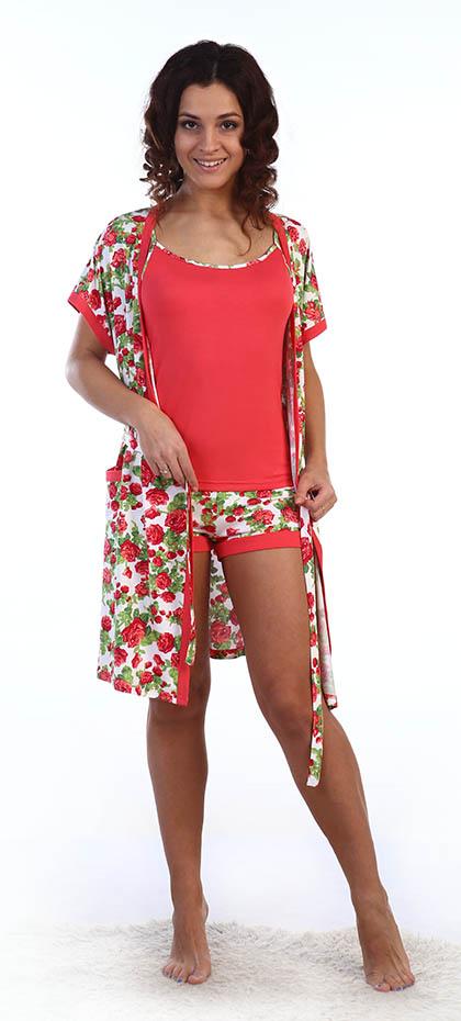 Костюмы для дома и отдыха Серенада Одежда для дома Maybelle Цвет: Красные Розы (L) илья соколов стильная одежда для ваших стен отделка и декор вашего дома
