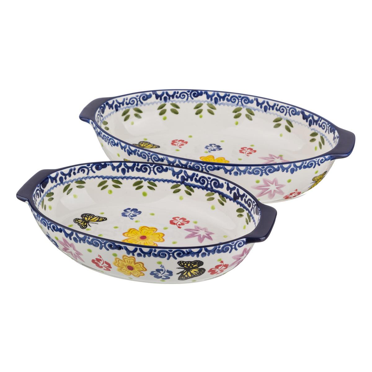 {} Agness Блюдо для запекания Keysha  (Набор) kitchenaid набор прямоугольных чаш для запекания 0 45 л 2 шт красные