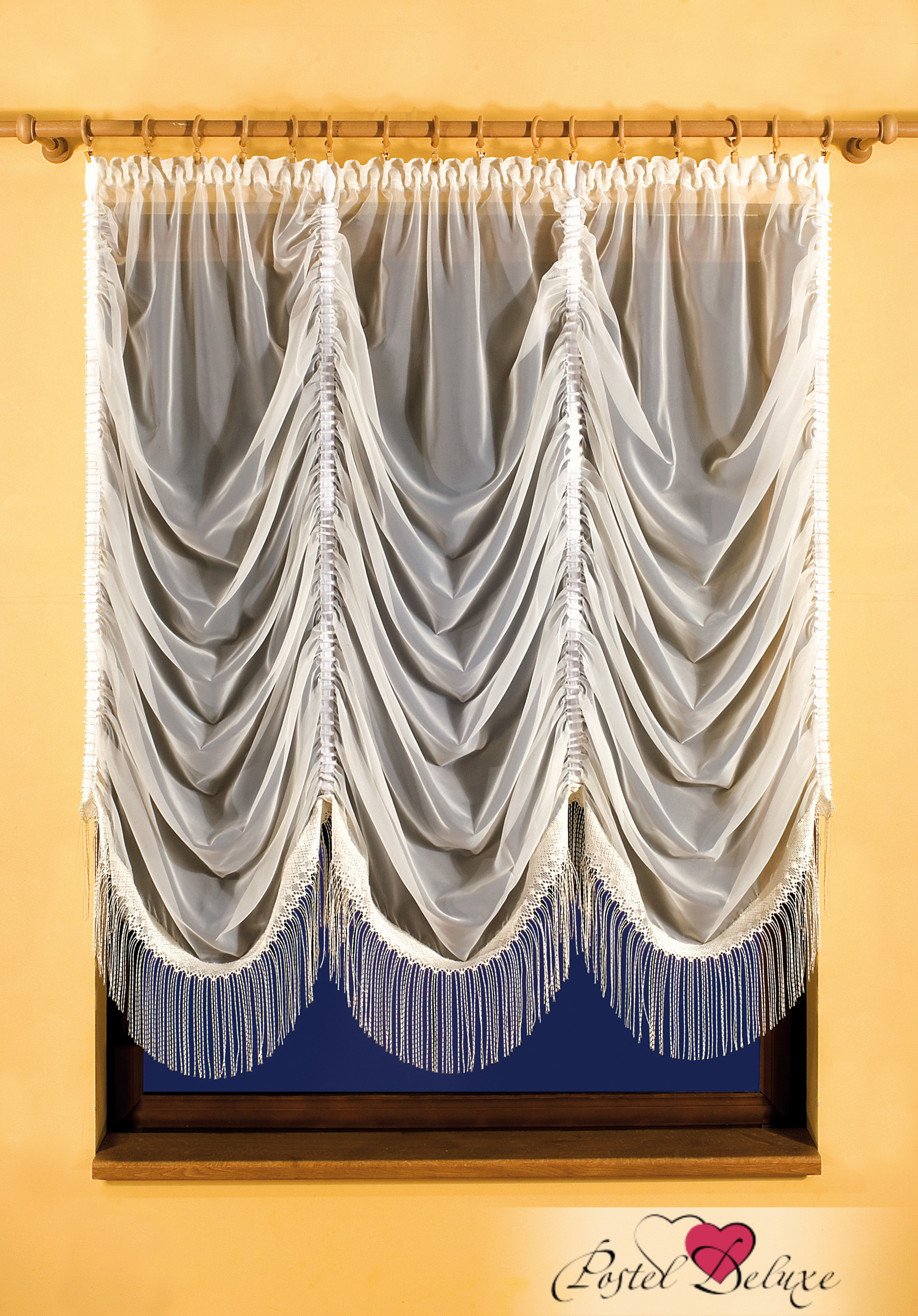 Шторы Wisan Французские шторы Karina Цвет: Кремовый wisan wisan классические шторы melicent цвет кремовый