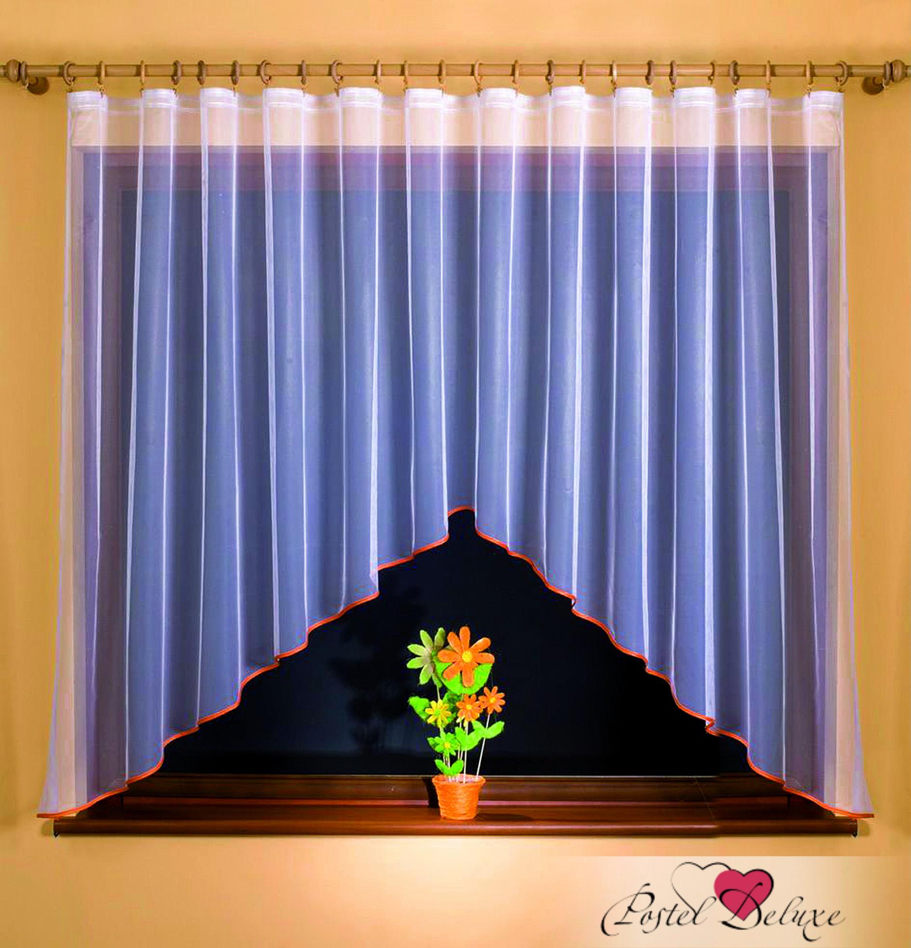 Шторы Wisan Классические шторы Magda Цвет: Оранжевый, Белый wisan wisan классические шторы noele