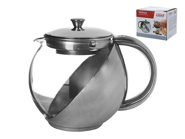{} Best Home Kitchen Чайник заварочный Fuego (750 мл) чайник заварочный miolla с фильтром цвет фиолетовый прозрачный 750 мл dha021p a