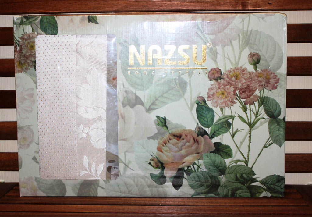 Покрывало NAZSU Покрывало Yaprak Цвет: Розовый (240х260 см) покрывало nazsu однотонная rana 220x240 см нав 50х70 2 см 1160374