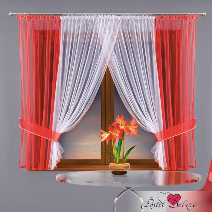 Шторы Wisan Классические шторы Цвет: Красный шторы м братиславская