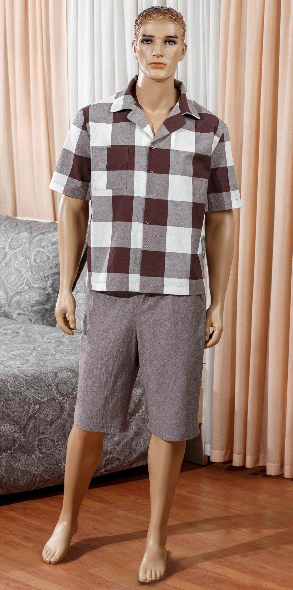 Футболки Primavelle Одежда для дома Boris Цвет: Коричневый (M) лен одежда купить