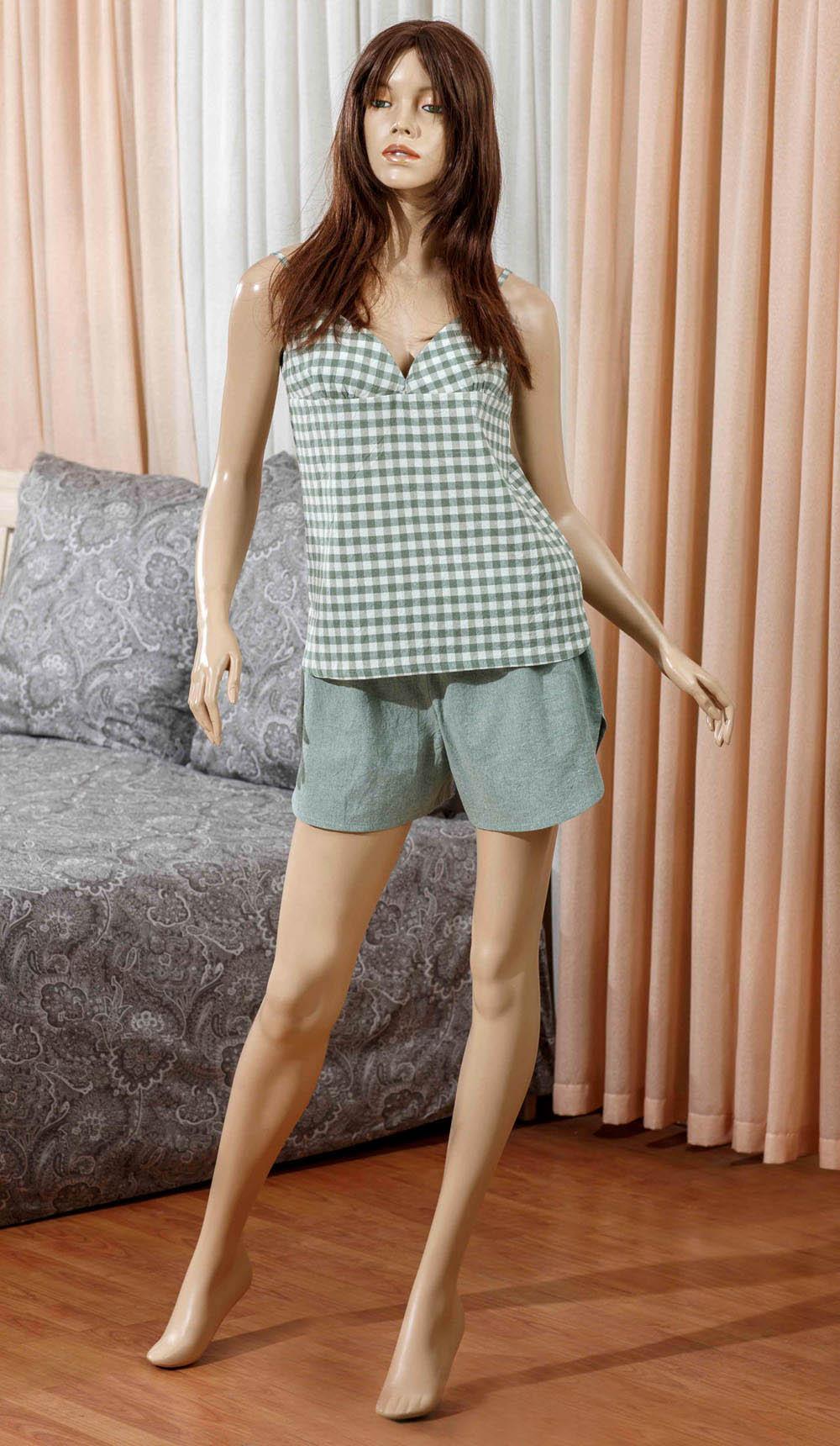 Брюки Primavelle Одежда для дома Vera Цвет: Зеленый (L-xL) лен одежда купить
