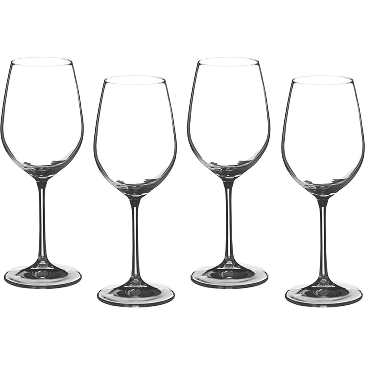{} Bohemia Crystal Набор бокалов для вина Rowena  (24 см - 4 шт) набор для кофе crystal bohemia mokko 4 предмета