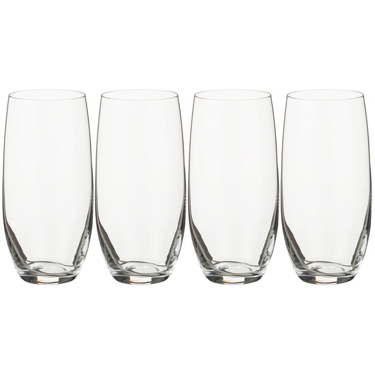 {} Bohemia Crystal Набор стаканов Marilena  (470 мл - 4 шт) набор для кофе crystal bohemia mokko 4 предмета