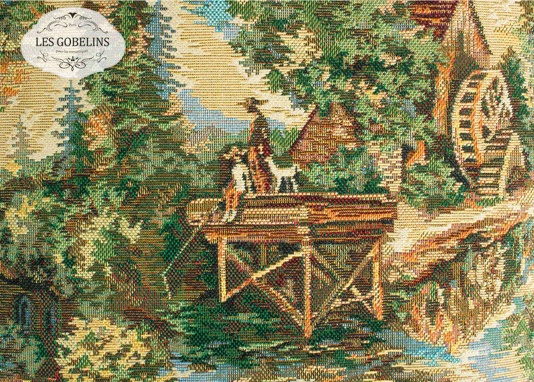 Покрывало Les Gobelins Накидка на диван Provence (150х210 см) les gobelins les gobelins накидка на диван provence 150х190 см