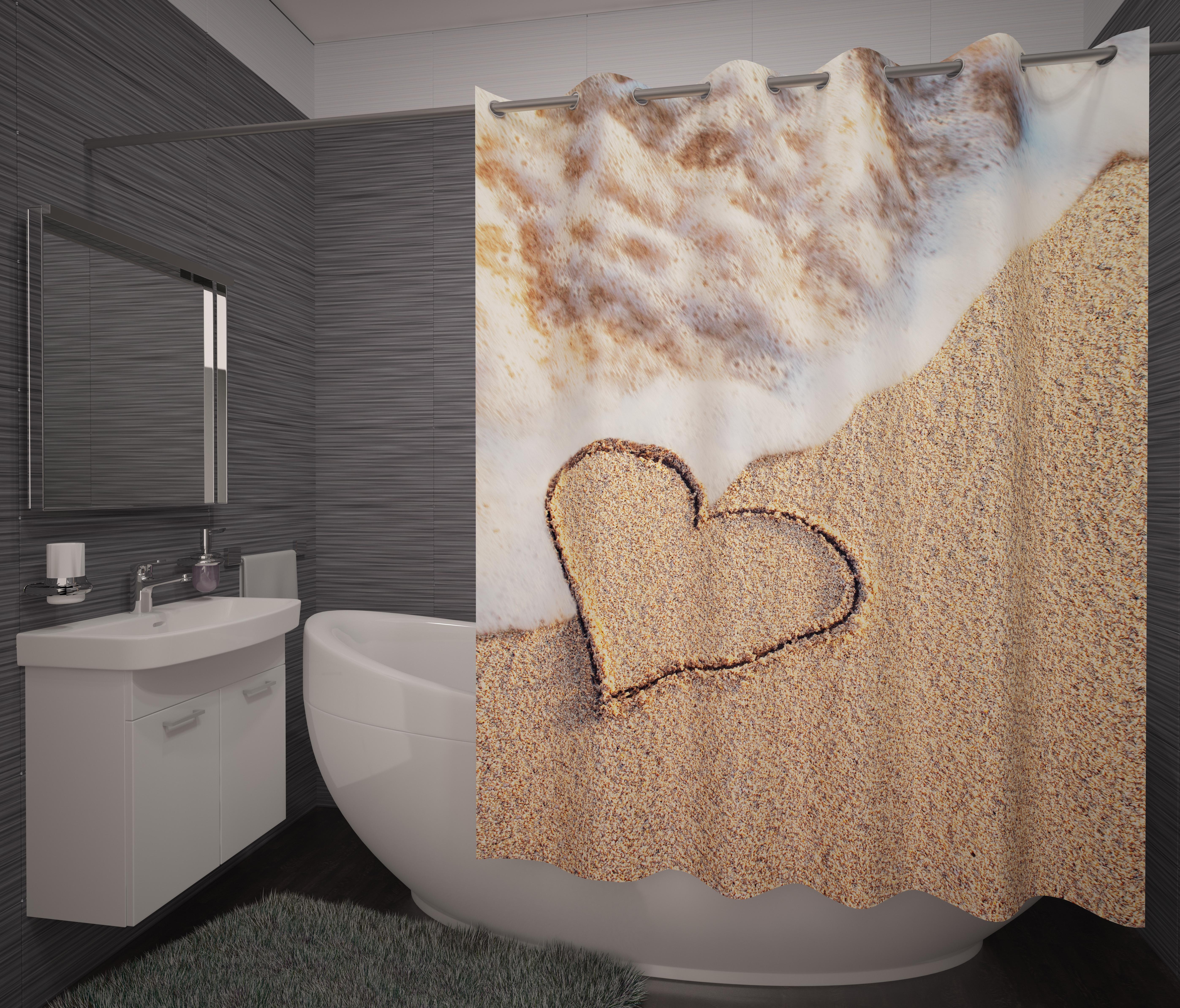 Шторы и карнизы для ванной Fototende Фотошторы для ванной Tria