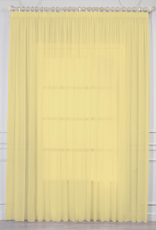 Шторы Amore Mio Классические шторы Kacey Цвет: Желтый