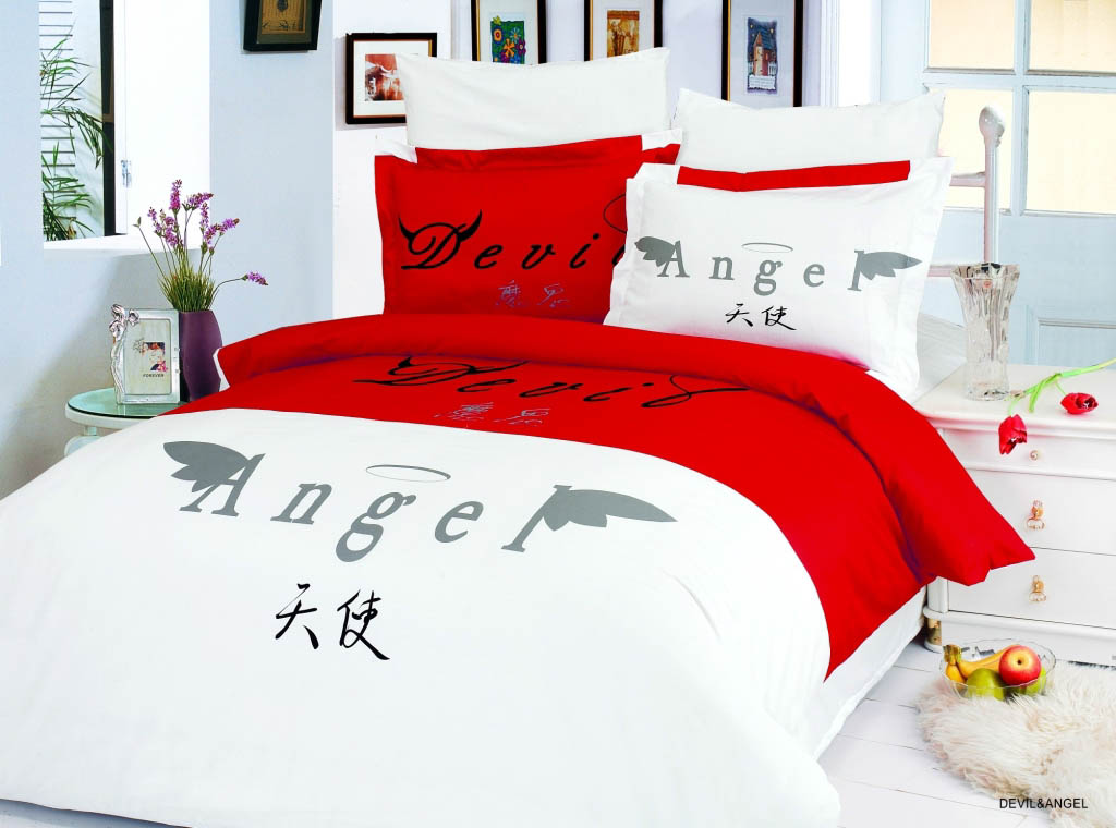 Le Vele Постельное белье Devil and Angel (2 сп. евро) постельное белье le vele ле веле devil angel euro standart