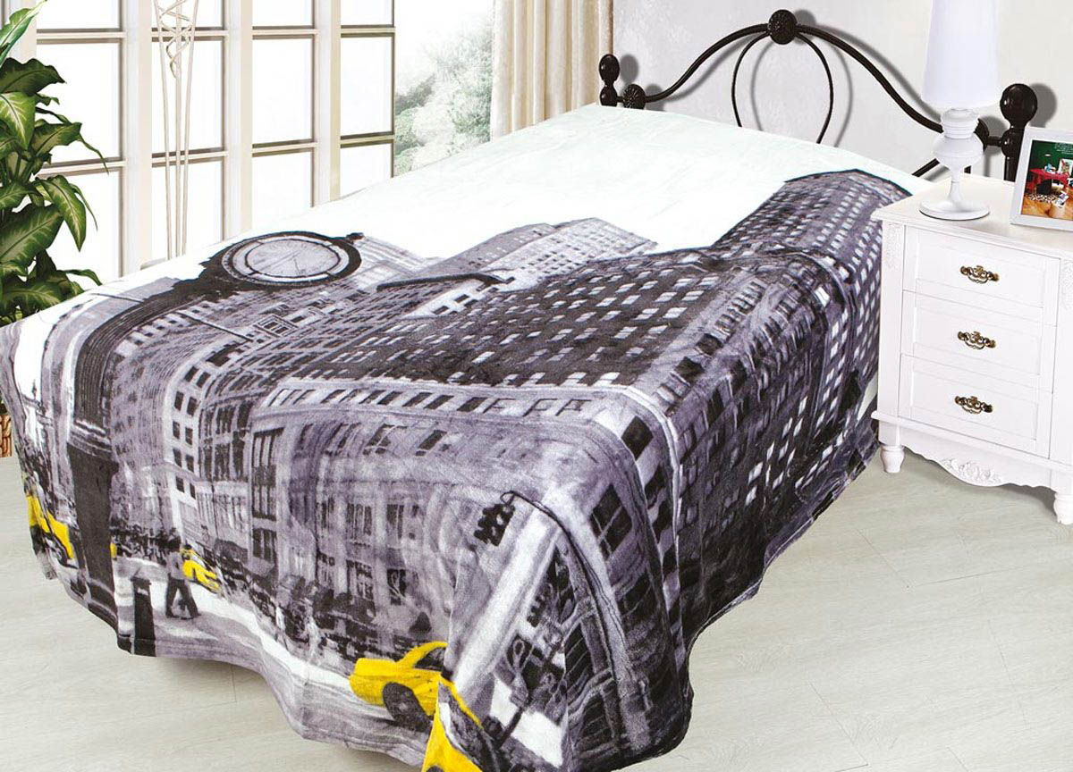 Плед Absolute Плед New York (180х220 см) absolute absolute плед камешки 180х220 см