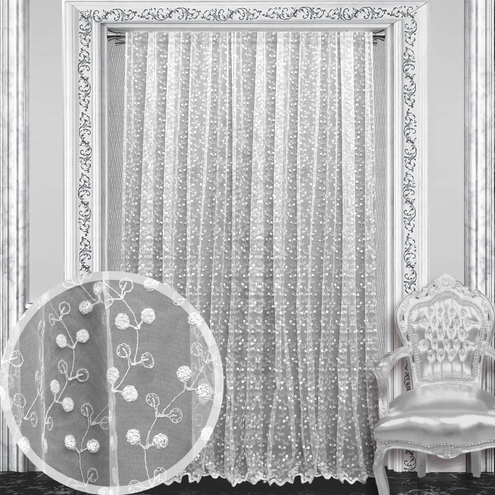 Шторы Amore Mio Классические шторы Sardinia Цвет: Белый