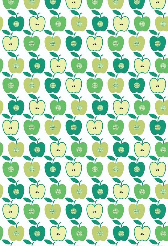 Скатерти и салфетки StickButik Скатерть Яблочный Бум (120х120 см)
