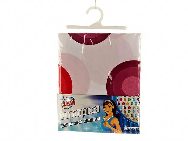 Шторы и карнизы для ванной White CLEAN Шторы для ванной Eliana white clean шторка для ванной