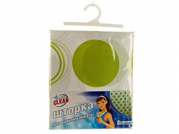 Шторы и карнизы для ванной White CLEAN Шторы для ванной Blenda white clean шторка для ванной