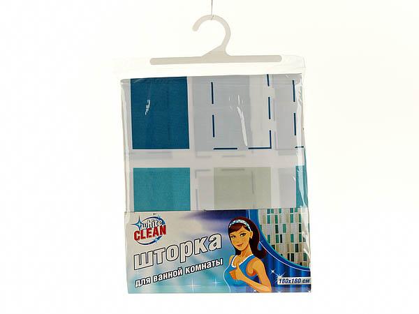 Шторы и карнизы для ванной White CLEAN Шторы для ванной Edith white clean шторка для ванной