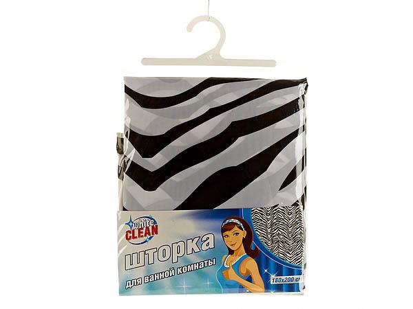 Шторы и карнизы для ванной White CLEAN Шторы для ванной Alaina white clean шторка для ванной