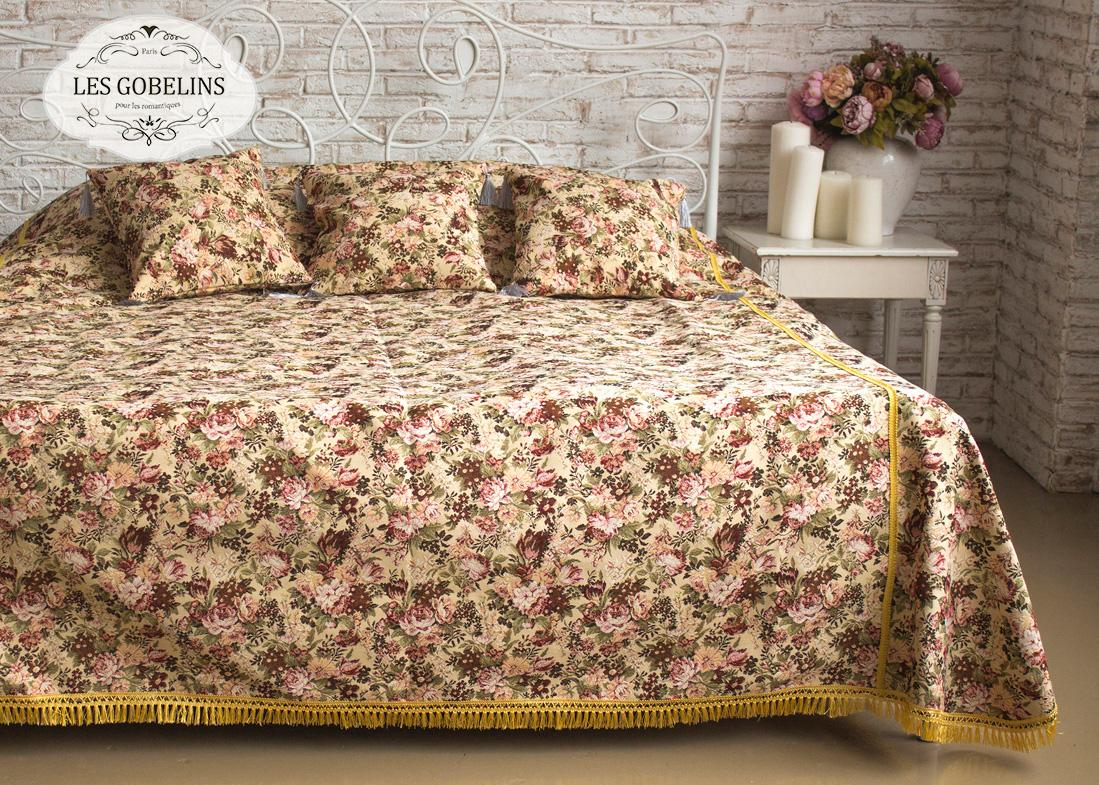Фотография Les Gobelins Покрывало на кровать Bouquet Francais (130х220 см)