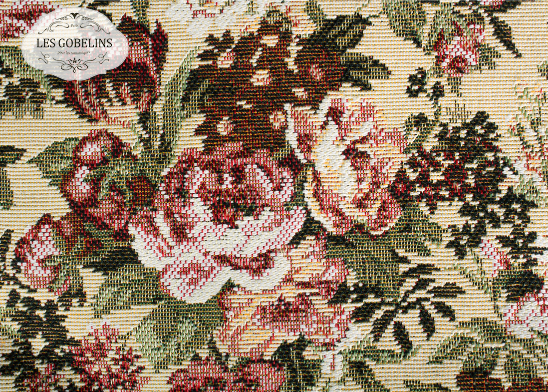Покрывало Les Gobelins Накидка на диван Bouquet Francais (150х170 см)