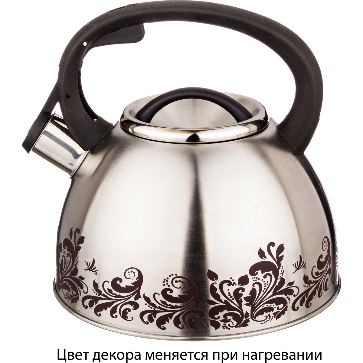 {} Agness Чайник со свистком Quintana  (2500 мл) чайник со свистком cook