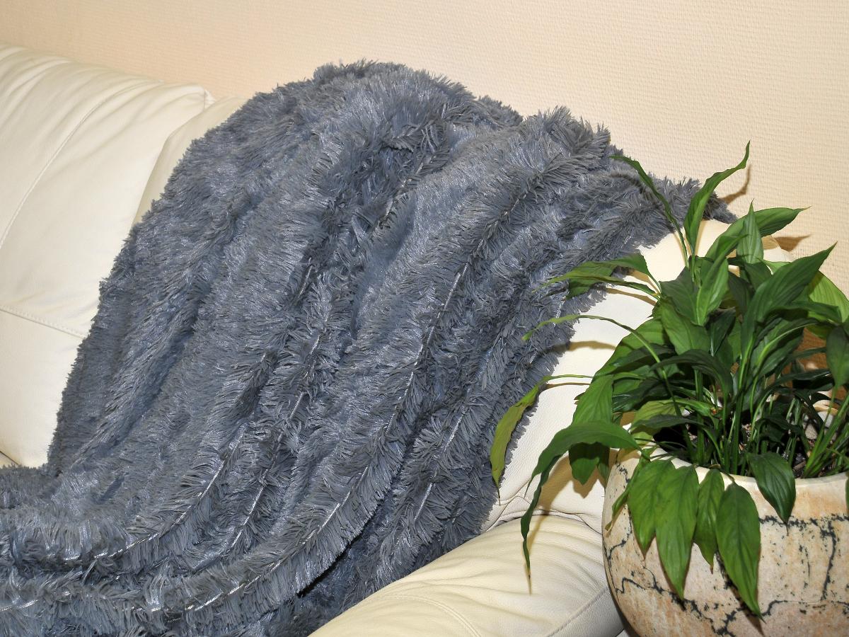 где купить Плед Cleo Плед Конфетти Цвет: Серый (220х240 см) по лучшей цене