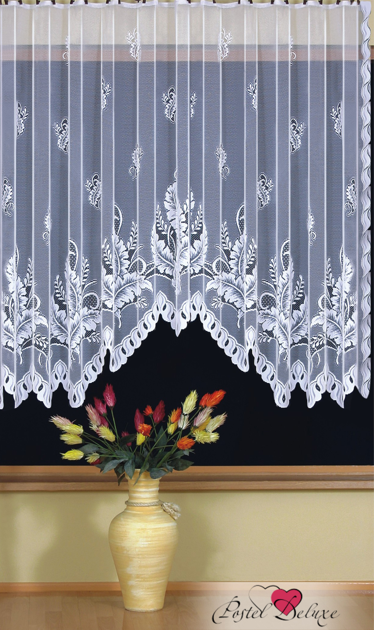 Шторы Wisan Классические шторы Paprocie Цвет: Белый wisan wisan классические шторы noele
