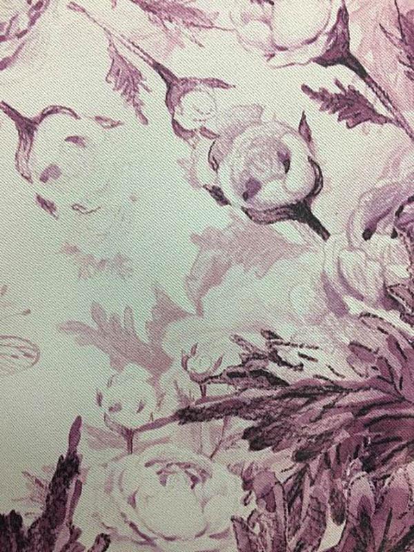Шторы ТомДом Классические шторы Трофи Цвет: Фиолетовый томдом томдом классические шторы абель цвет малиновый