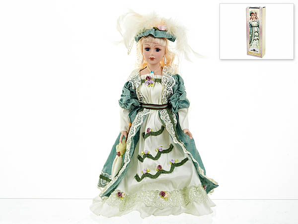{} ArtHouse Кукла декоративная Екатерина (7х13х36 см) arthouse w15052865053