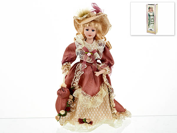{} ArtHouse Кукла декоративная Людмила (7х13х36 см) arthouse w15052863878