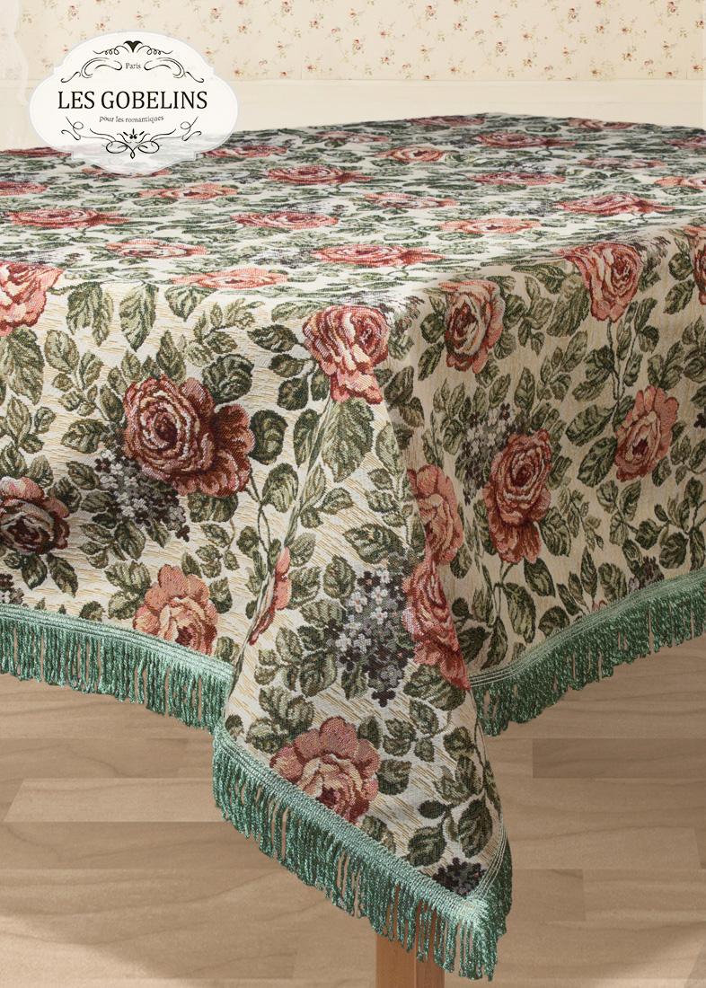 все цены на  Скатерти и салфетки Les Gobelins Скатерть Art Floral (130х260 см)  в интернете