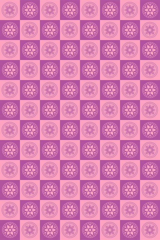 Скатерти и салфетки StickButik Скатерть Цветущие Квадраты (150х180 см) minecraft игровой конструктор из бумаги снежный биом 48 деталей