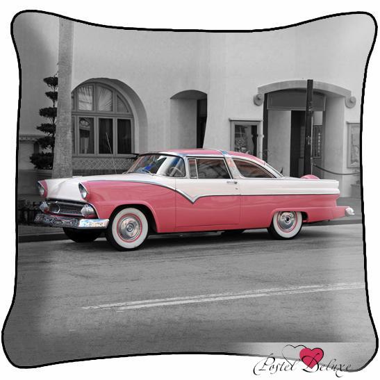 Декоративные подушки Fototende Декоративная подушка Ретро Автомобиль ортопедическая подушка в автомобиль в кировограде