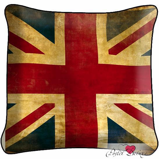Декоративные подушки Fototende Декоративная подушка Флаг Англии rubies мини шляпка флаг англии